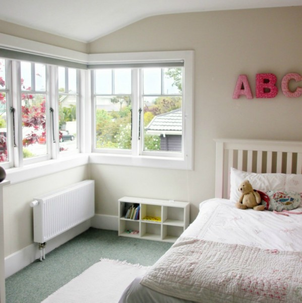 Central Heating radiator in child bedroom